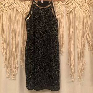 Alya Flapper Style Beaded Dress